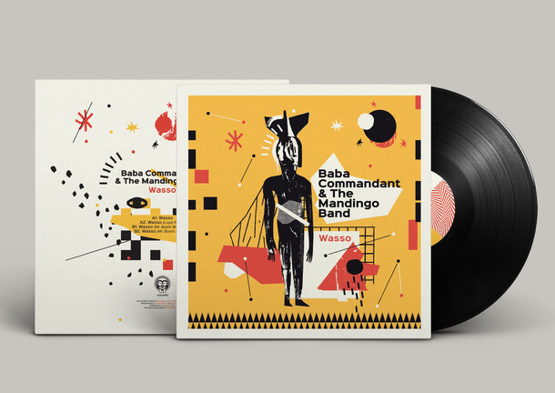 Baba Commandant & The Mandingo Band - Vinyl Illustrations