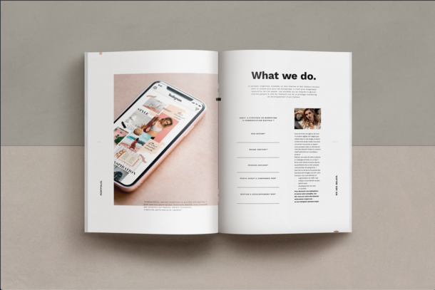 Book design with PPT