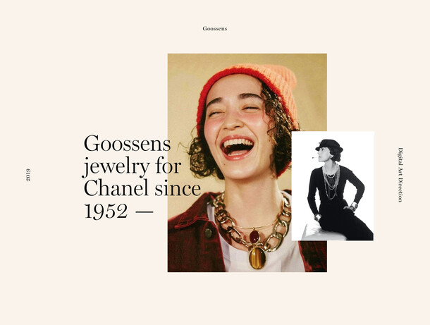 Goossens Jewerly for CHANEL
