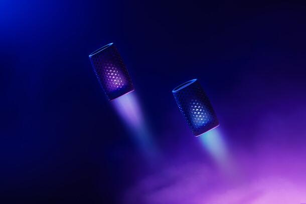 Audio Speakers : Photo Promotion