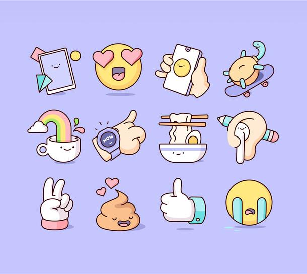HUAWEI - Sticker Pack