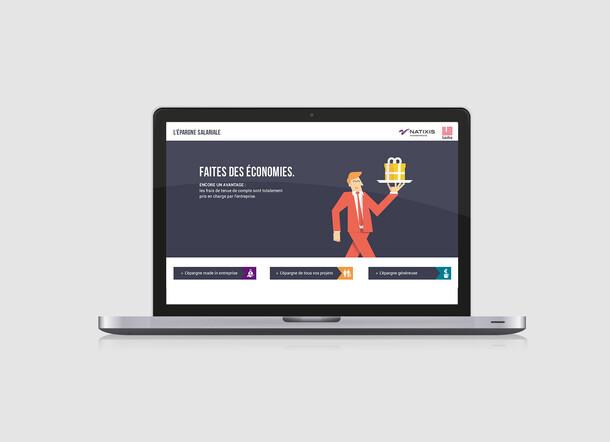 Natixis - illustration & data design