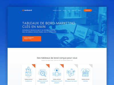 Nexboard - Website