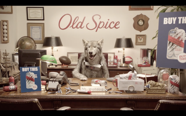 OLD SPICE - MR WOLFDOG