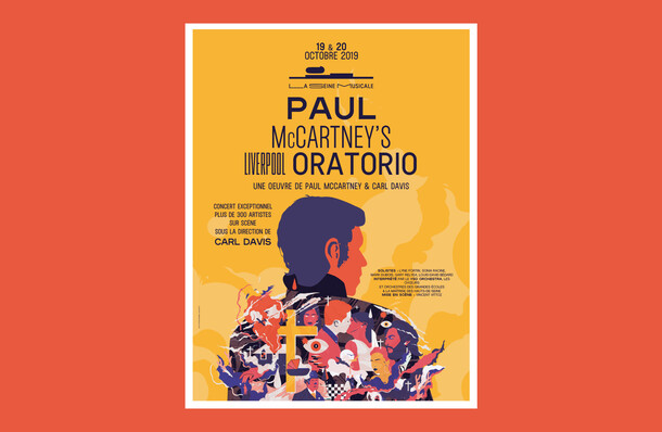Paul McCartney's Liverpool Oratorio - Poster
