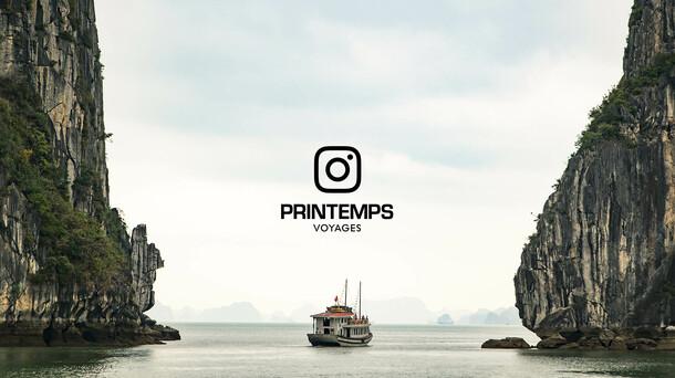 Printemps Voyages ● Instagram