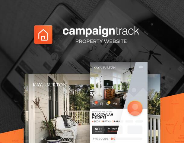 Property website for real estate agent