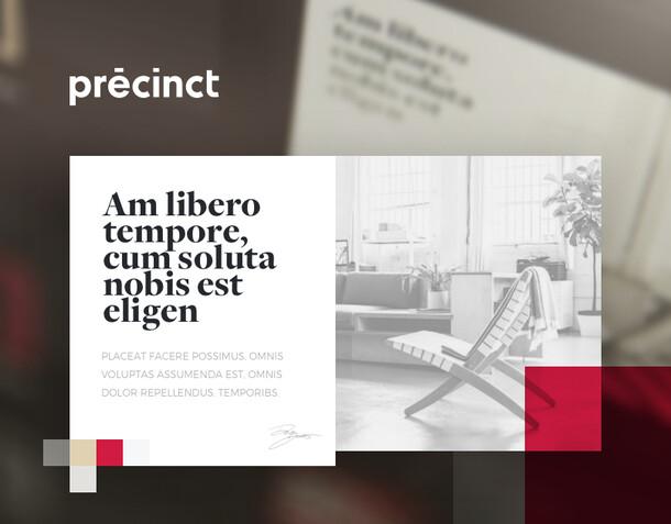 Branding - Precinct - Luxury Real Estate Agency