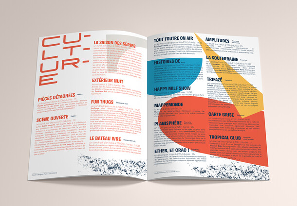 Radio Campus Paris - Brochure