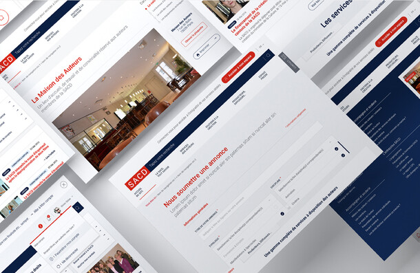 SACD, Plateforme Web