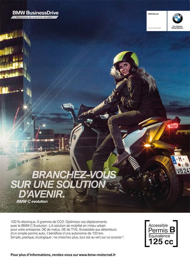 Campagne BtoB BMW C Evolution