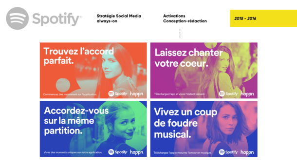 Spotify x Happn