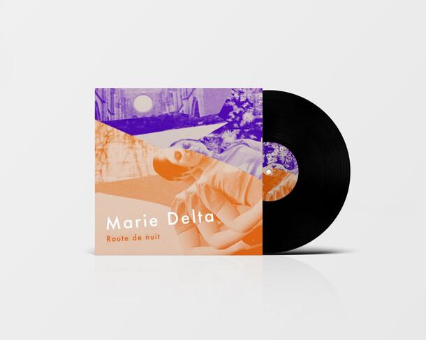 Album Cover - Marie Delta