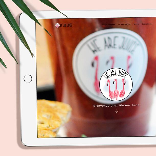 We Are Juice website